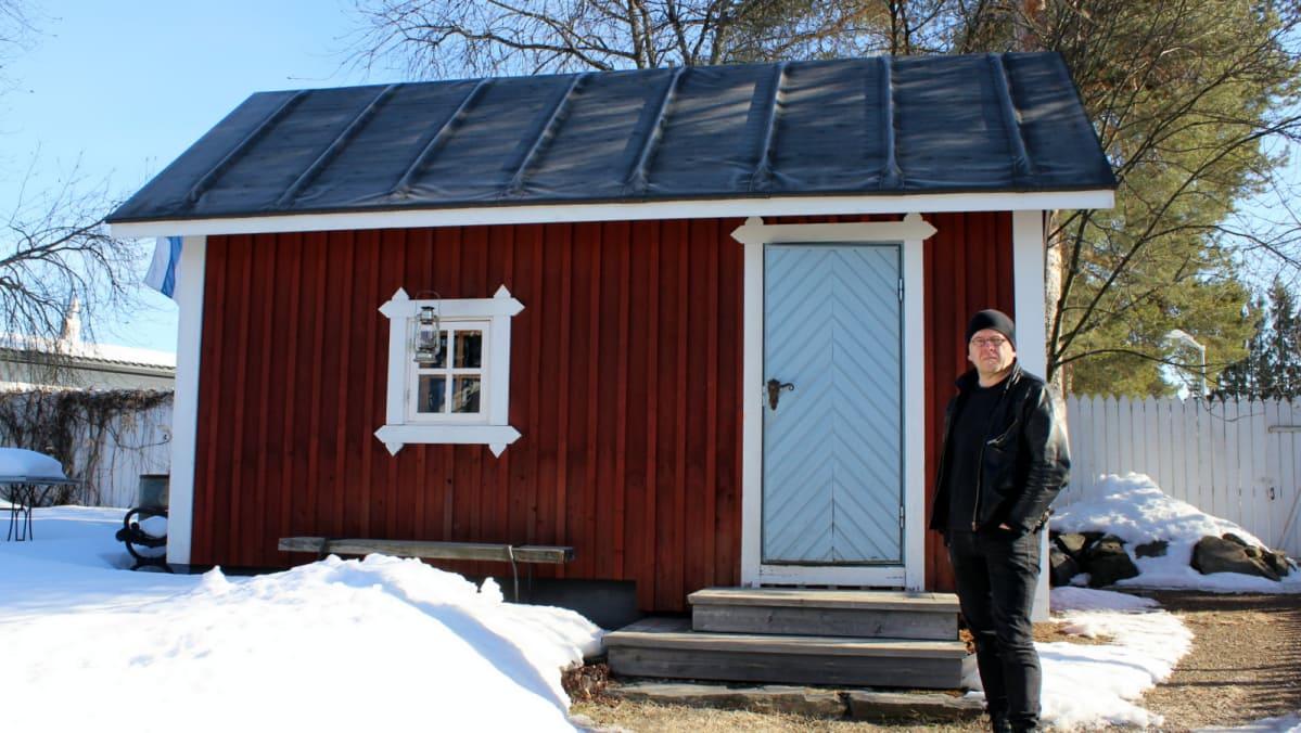 saunan rakentaminen ilman rakennuslupaa