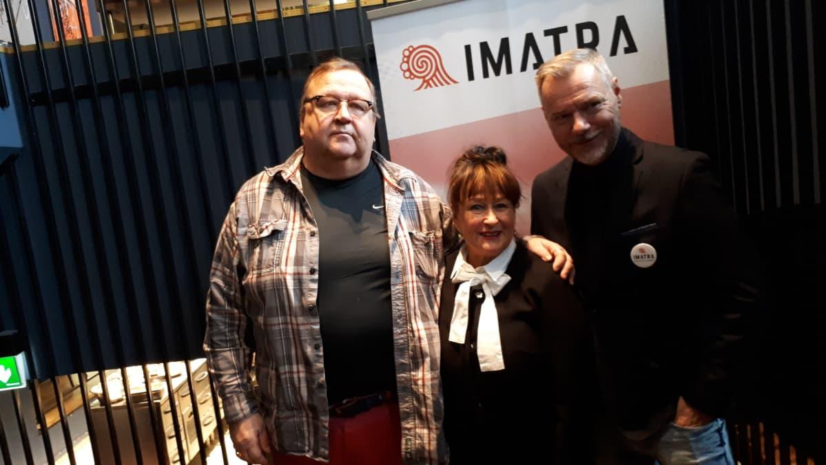 Imatra, Mikko Kivinen, Jaakko Selin, Sinikka Sokka