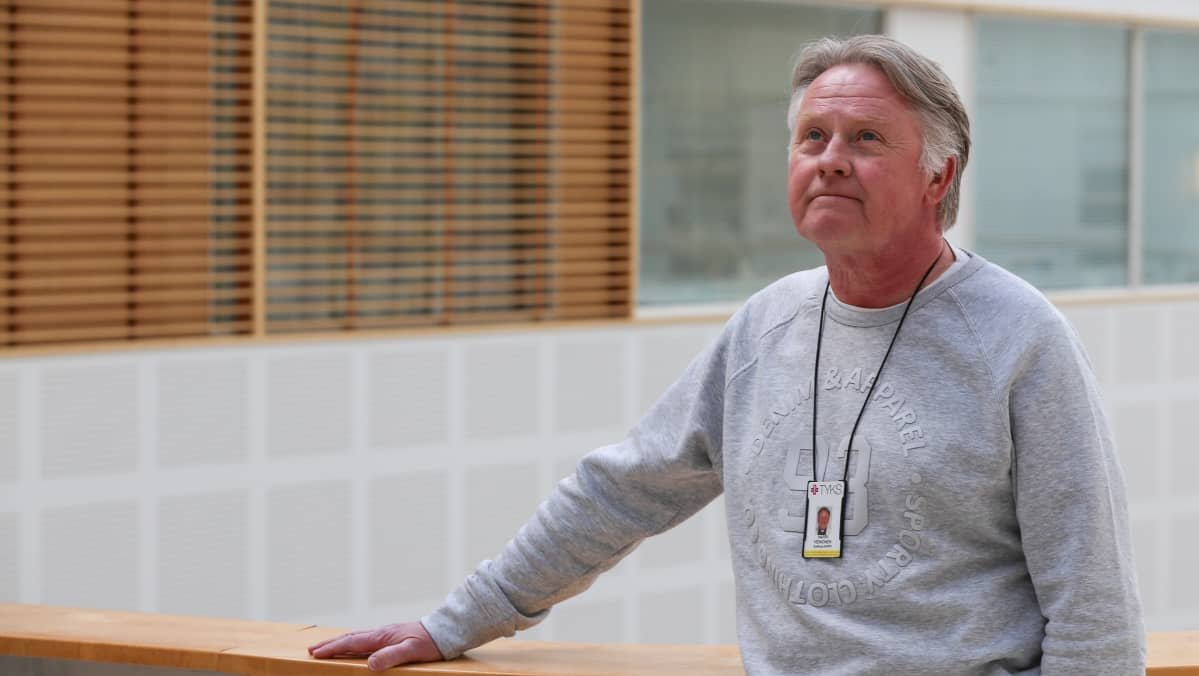 Sairaalapappi Harri Heinonen.