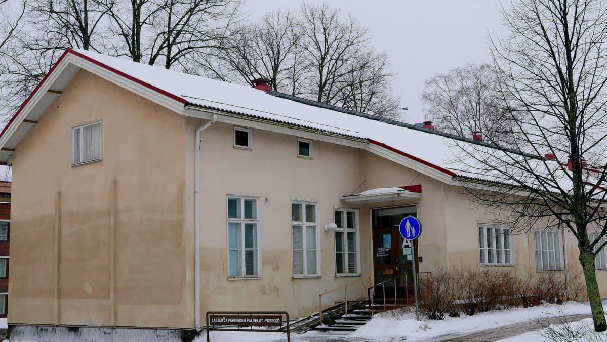 Heinolan vanha kaupunginsairaala.
