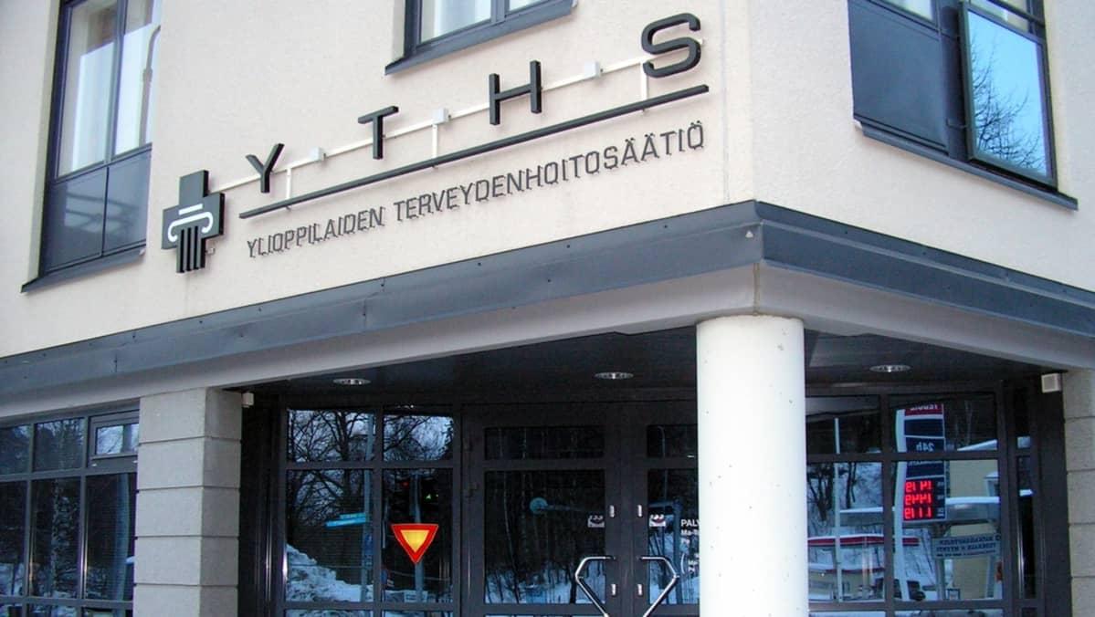 Ylioppilaiden terveydenhoitosäätiön toimipiste Kuopiossa.