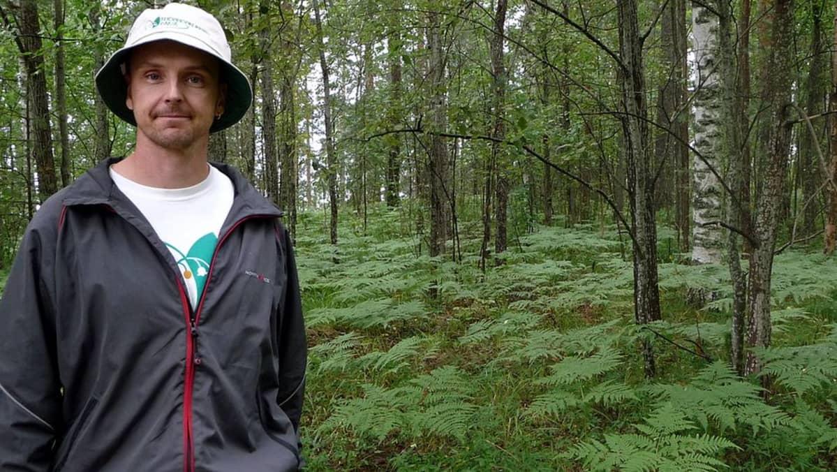 Etelä-Karjalan Allergia- ja Ympäristöinstituutin johtaja Kimmo Saarinen.