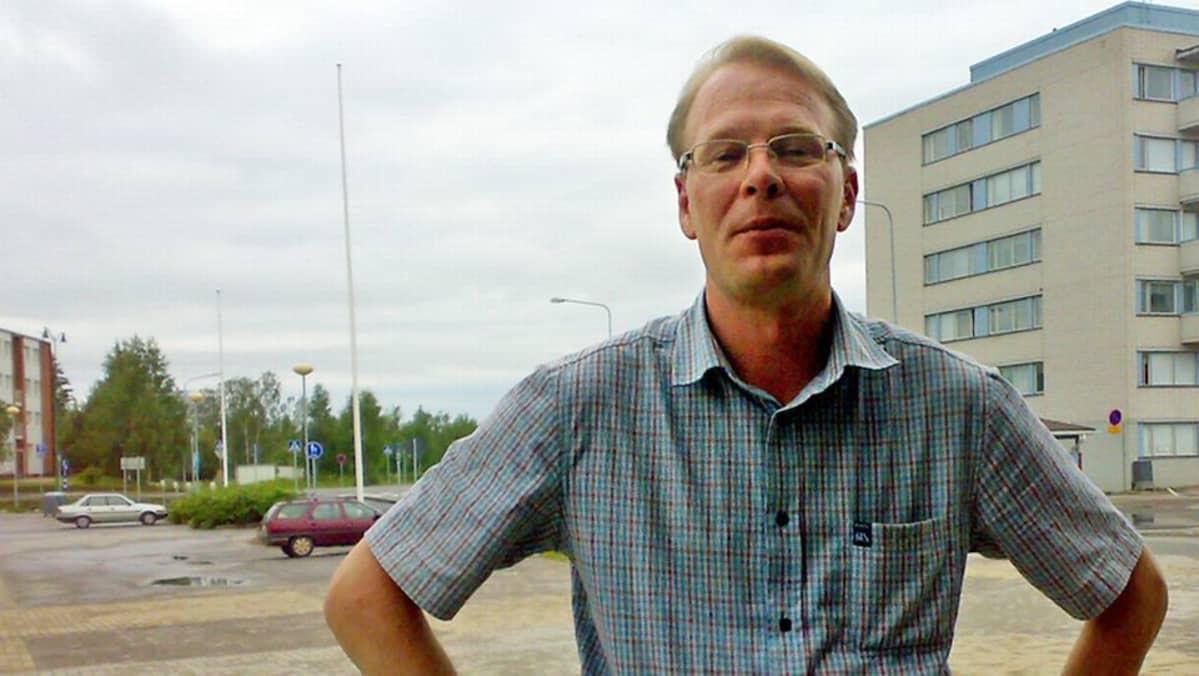 Kemijärven  kaupunginjohtaja Olli-Pekka Salminen
