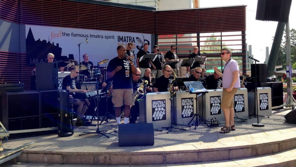 Imatra Big Band -festivaali, Imatra Big Band Jamie Davis 2013