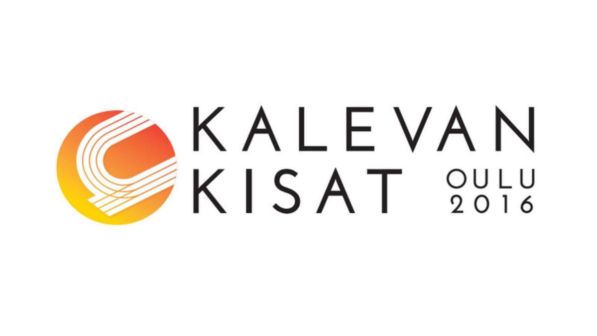 Oulun vuoden 2016 Kalevan kisojen logo