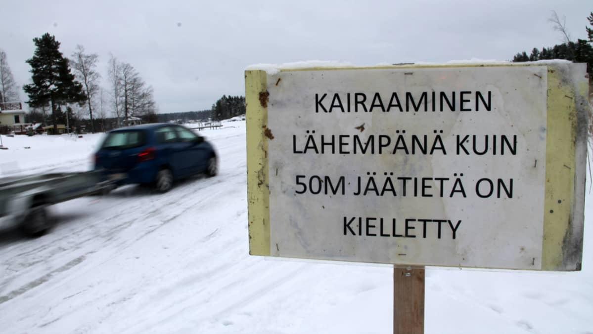 jäärata jäätie Lamposaari