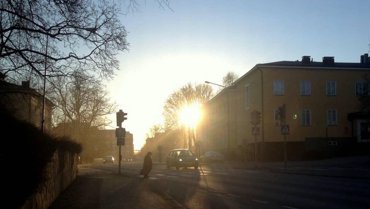 Katunäkymä Hämeenlinnasta
