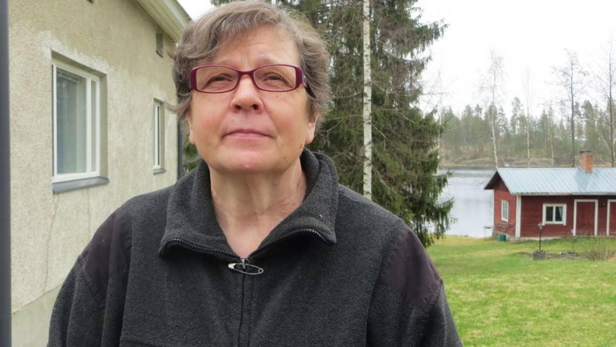 Irene Makkonen Savonlinnan Juvolasta.