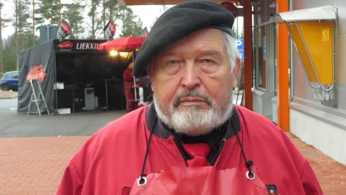 Savonlinnalainen perussuomalainen Erkki Rakkolainen.