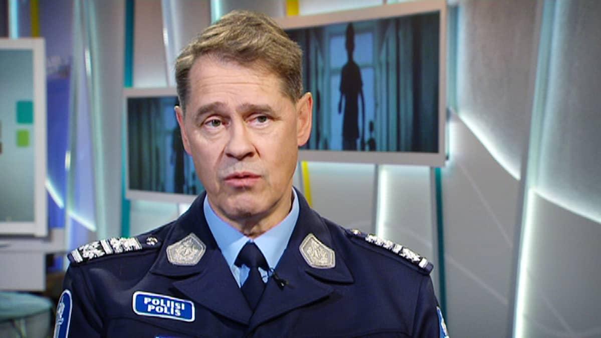 Poliisiylijohtaja Seppo Kolehmainen.