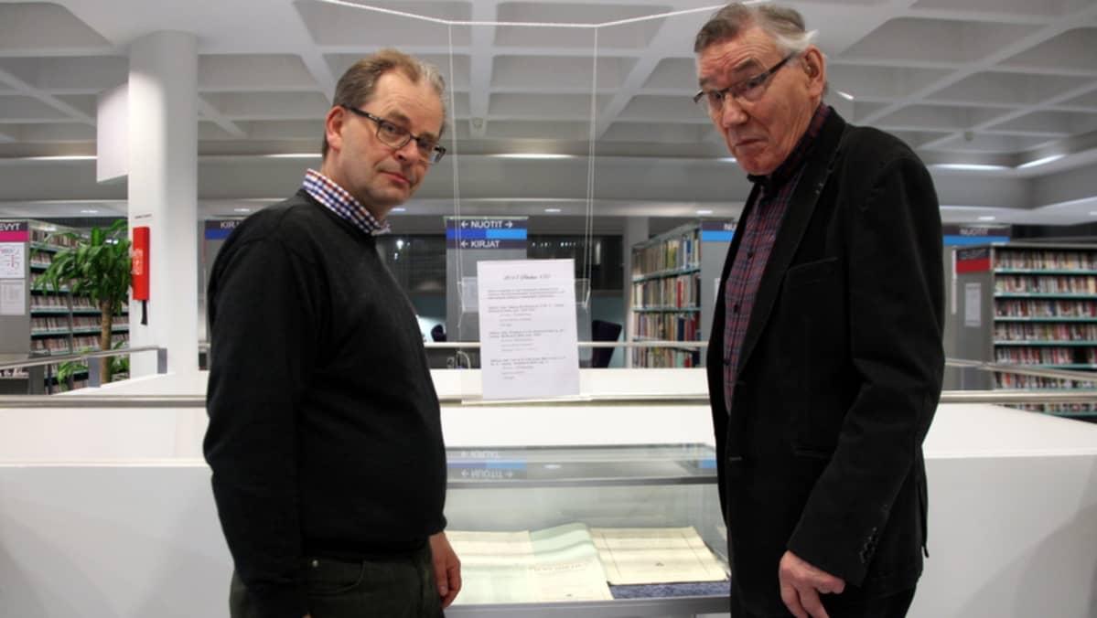Pekka Horttanainen ja Heikki Suutela.