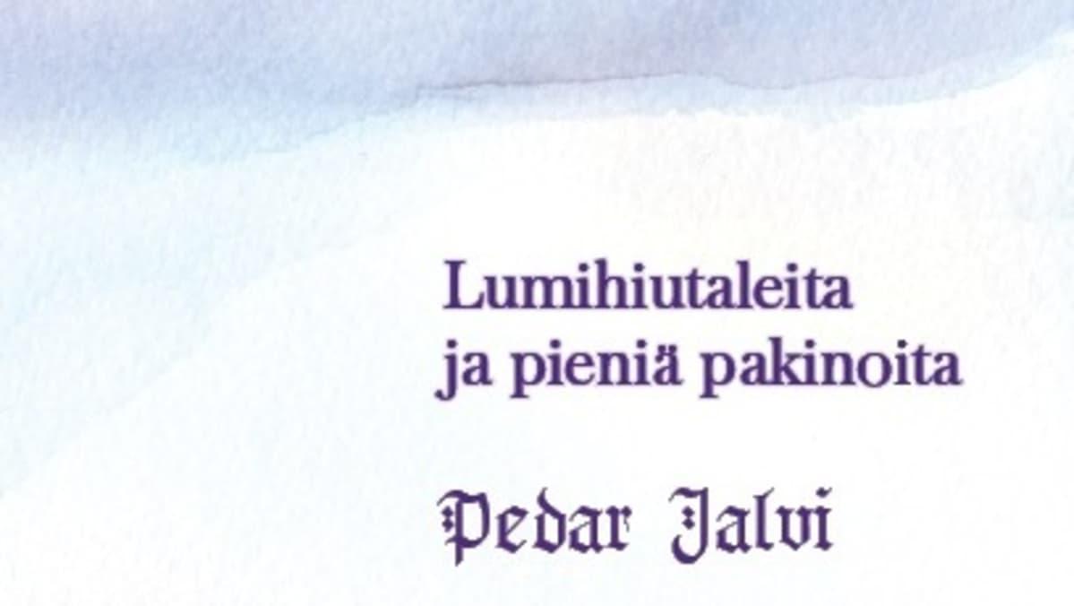 Pedar Jalvi-kirjan alustava kansikuva