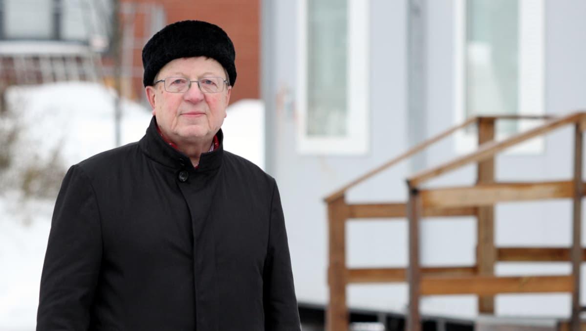 Kaupunginhallituksen puheenjohtaja Markku Aholainen