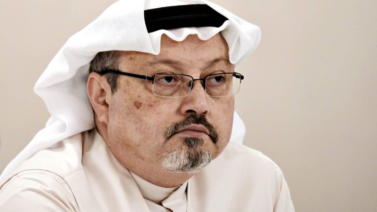Jamal Khashoggi kuvattuna joulukuussa 2014.