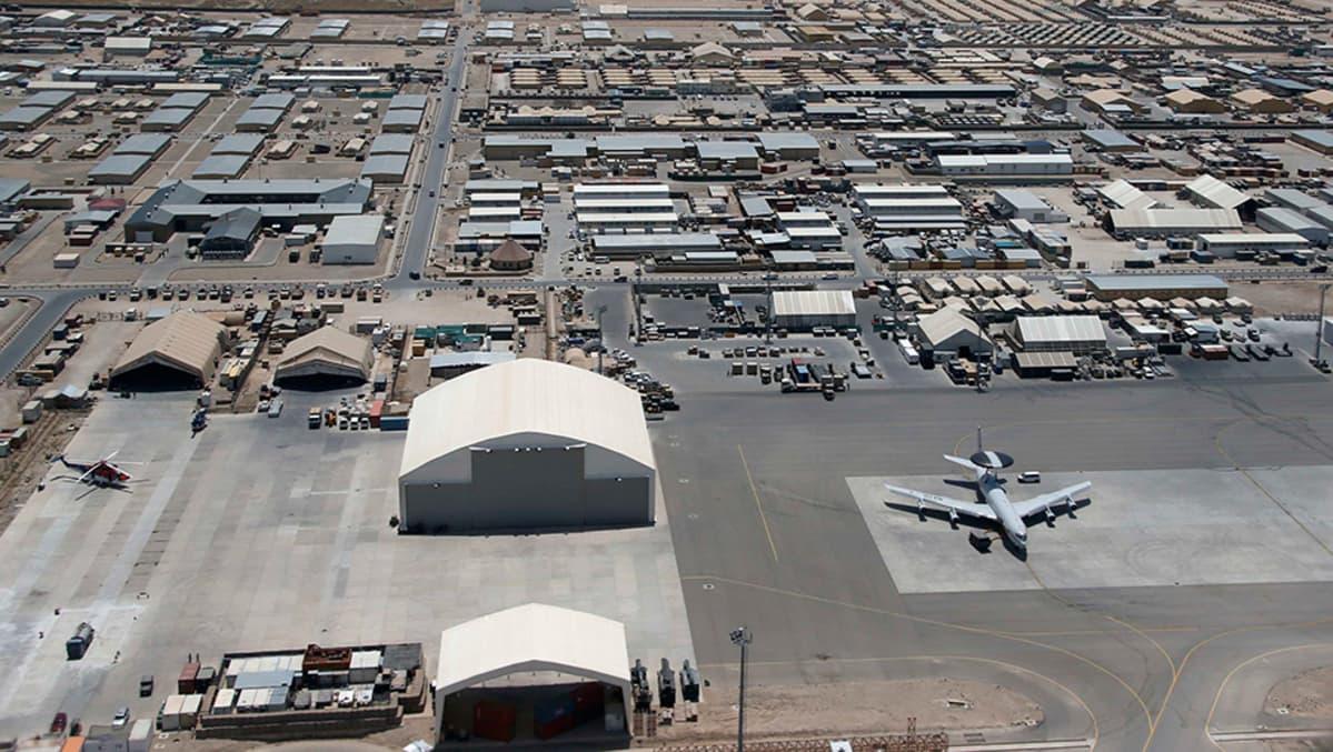 Camp Marmal Afganistanissa 21. kesäkuuta 2013.