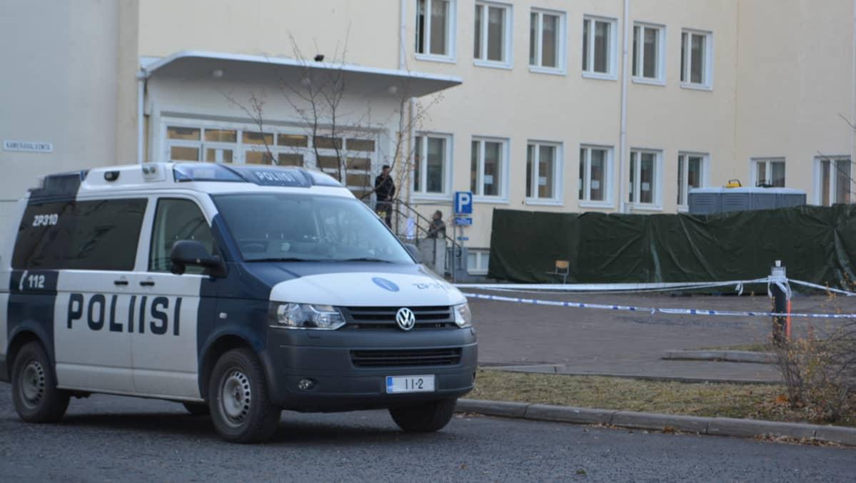 Järjestelykeskus Torniossa.
