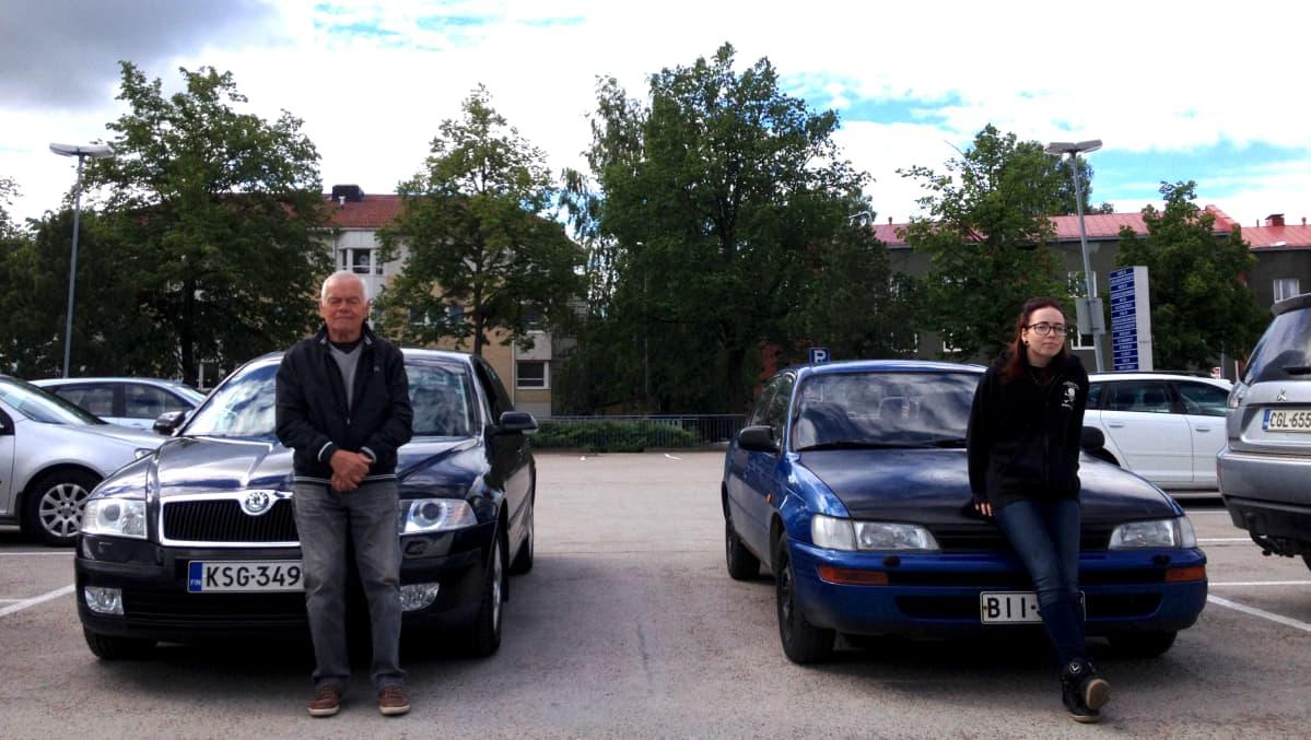 Lasse Jyrkäs ja Minna Sinisalo