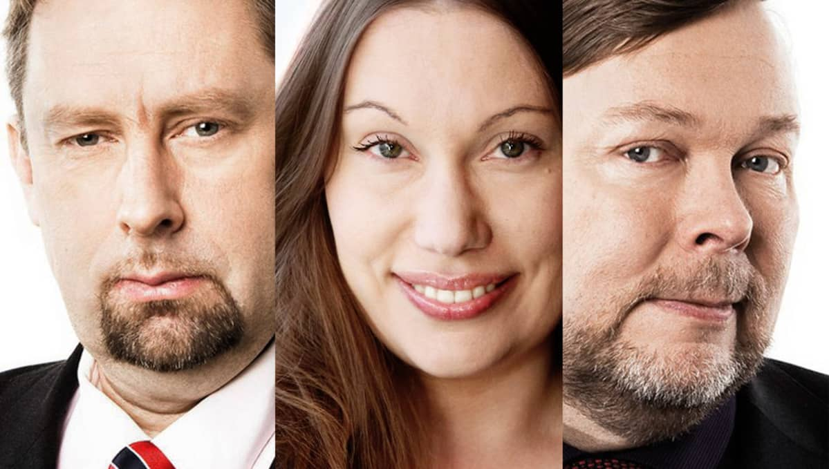 Jussi Lähde, Sanna Ukkola, Markus Leikola