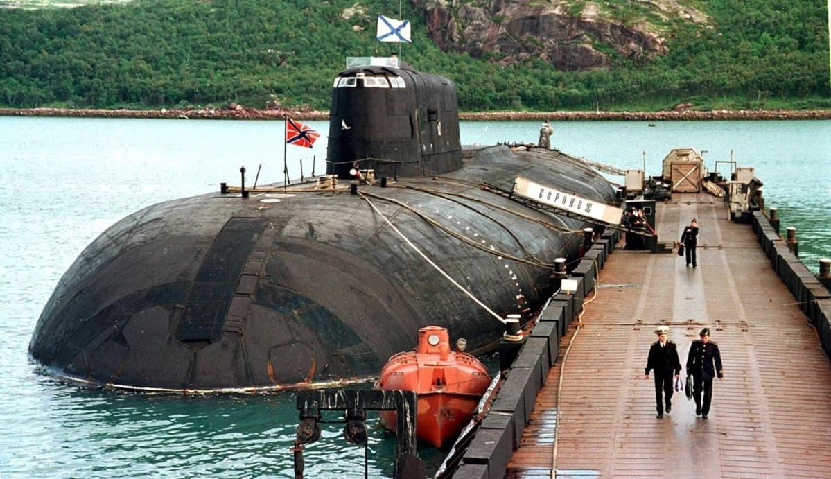 venäläinen oscar-luokan sukellusvene