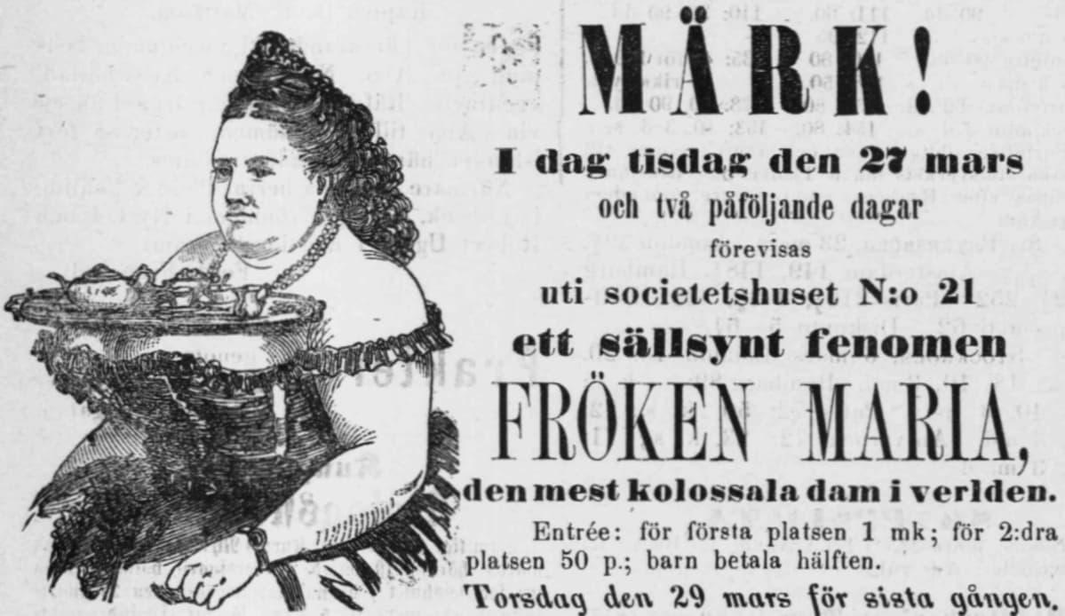 Fröken Maria, kolossi