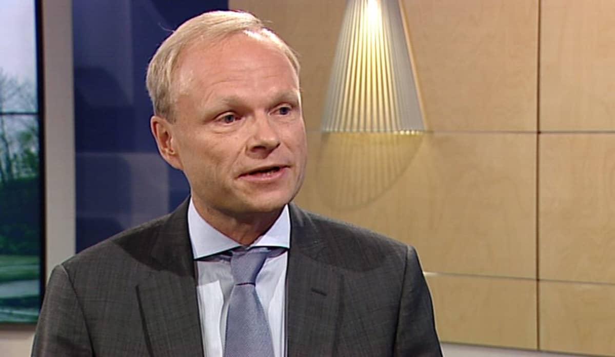 Konecranesin toimitusjohtaja Pekka Lundmark.