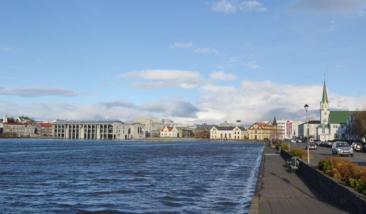 Reykjavik lokakuussa.