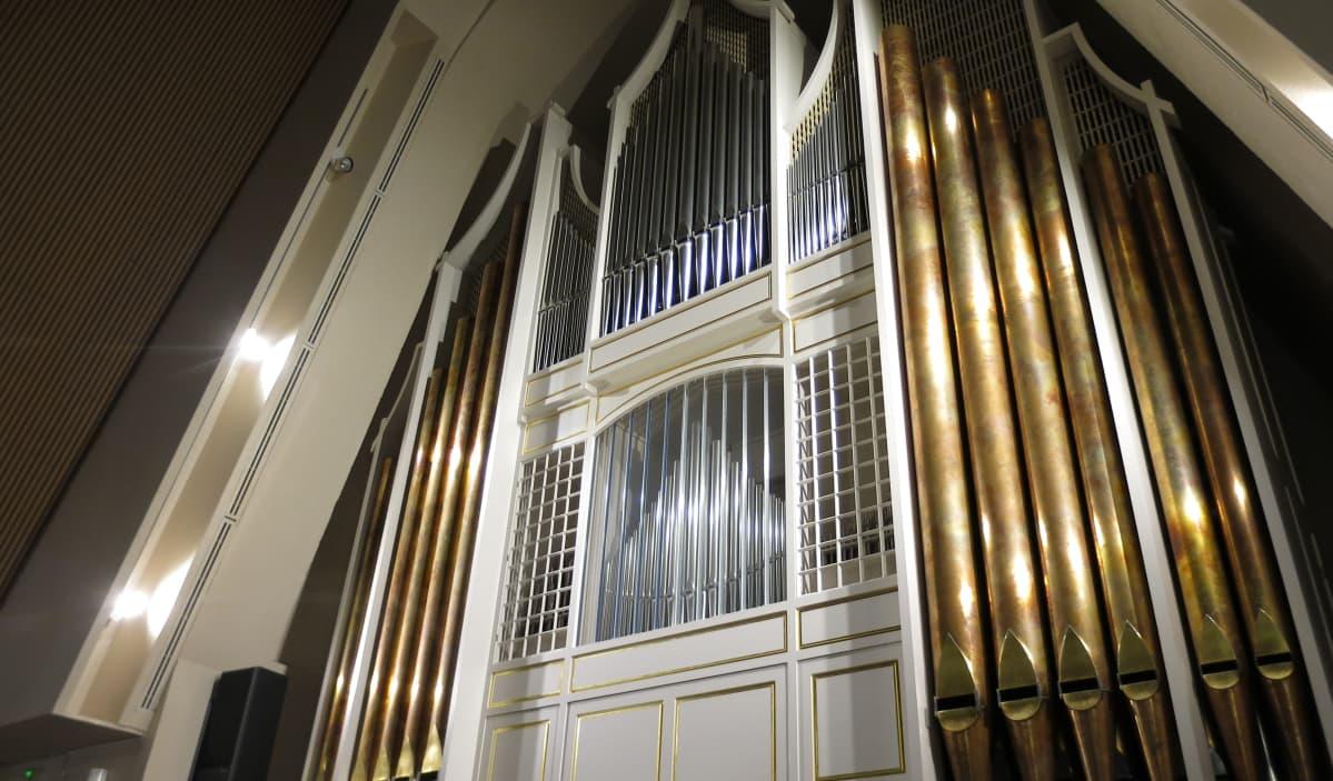 urut kirkko Rovaniemen pääkirkko seurakunta