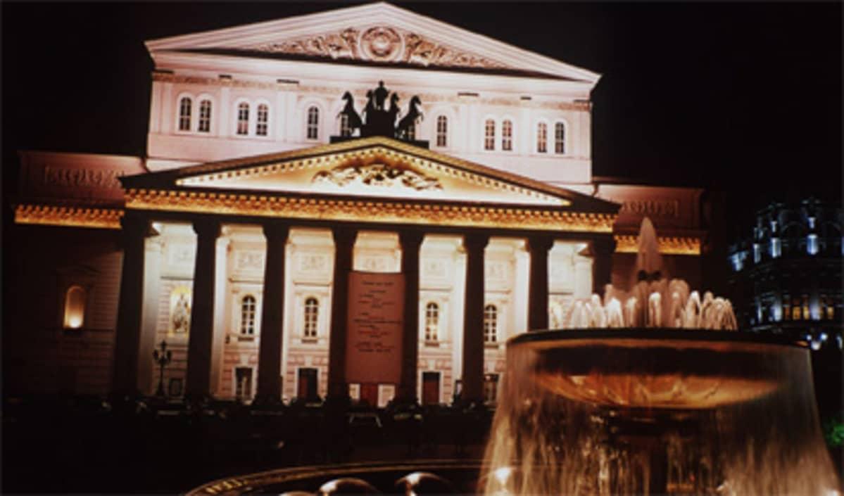 Bolshoi-teatteri Moskovassa