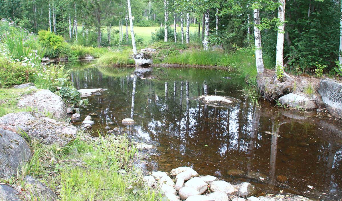 Vaalimaanjoki, Miehikkälässä