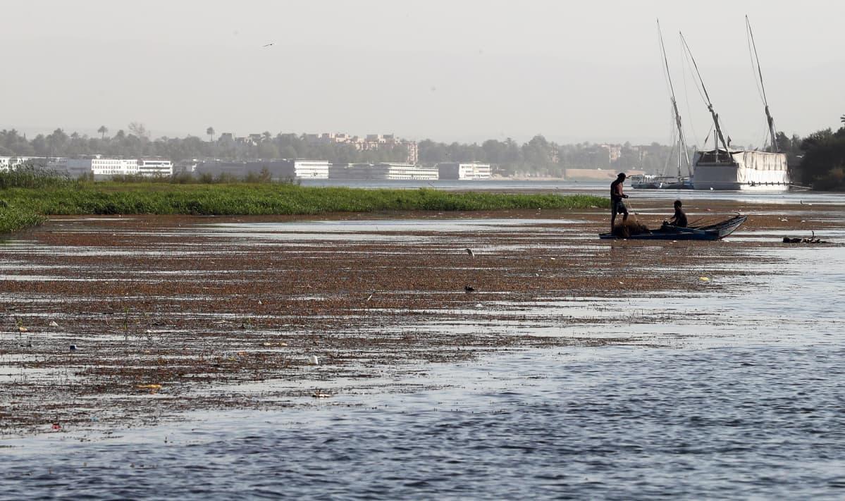 Kalastajia Niilillä Egyptissä.