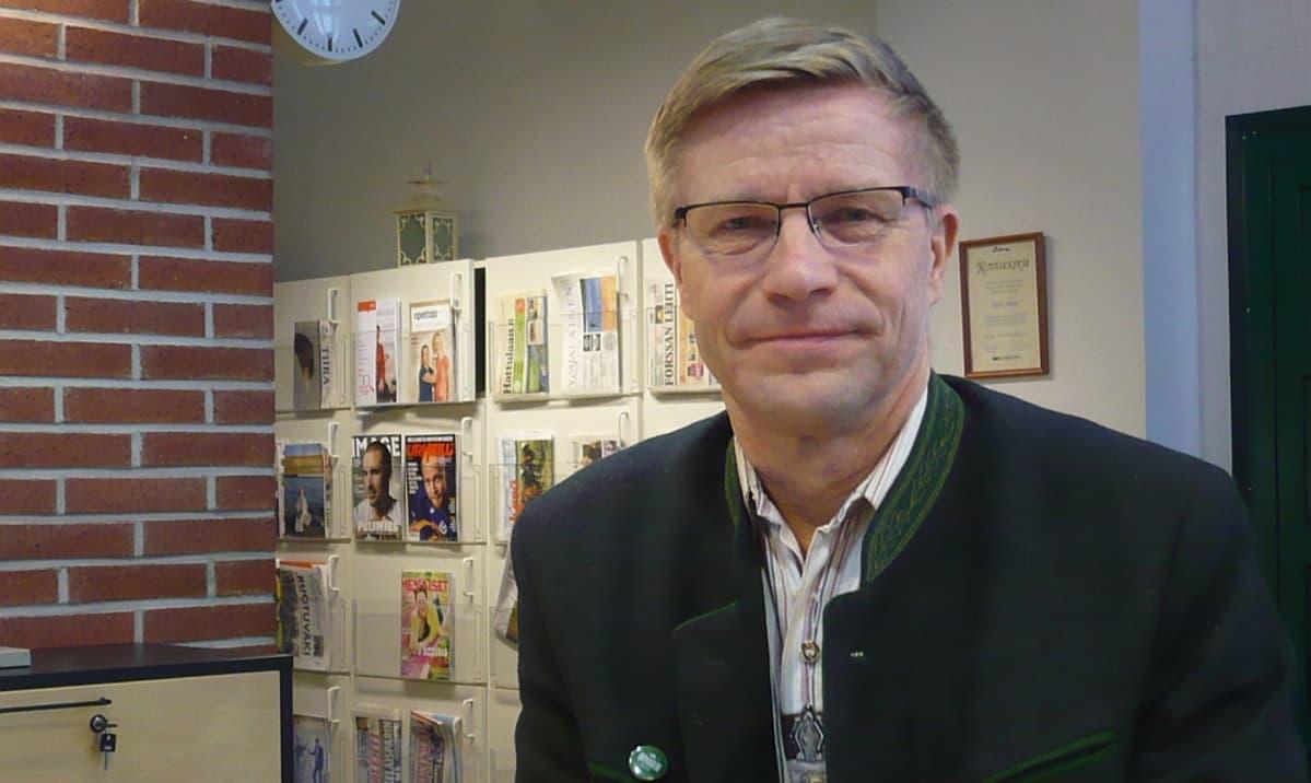 Lammin sahdin toimitusjohtaja, Pienpanimoliiton entinen pitkäaikainen puheenjohtaja Pekka Kääriäinen