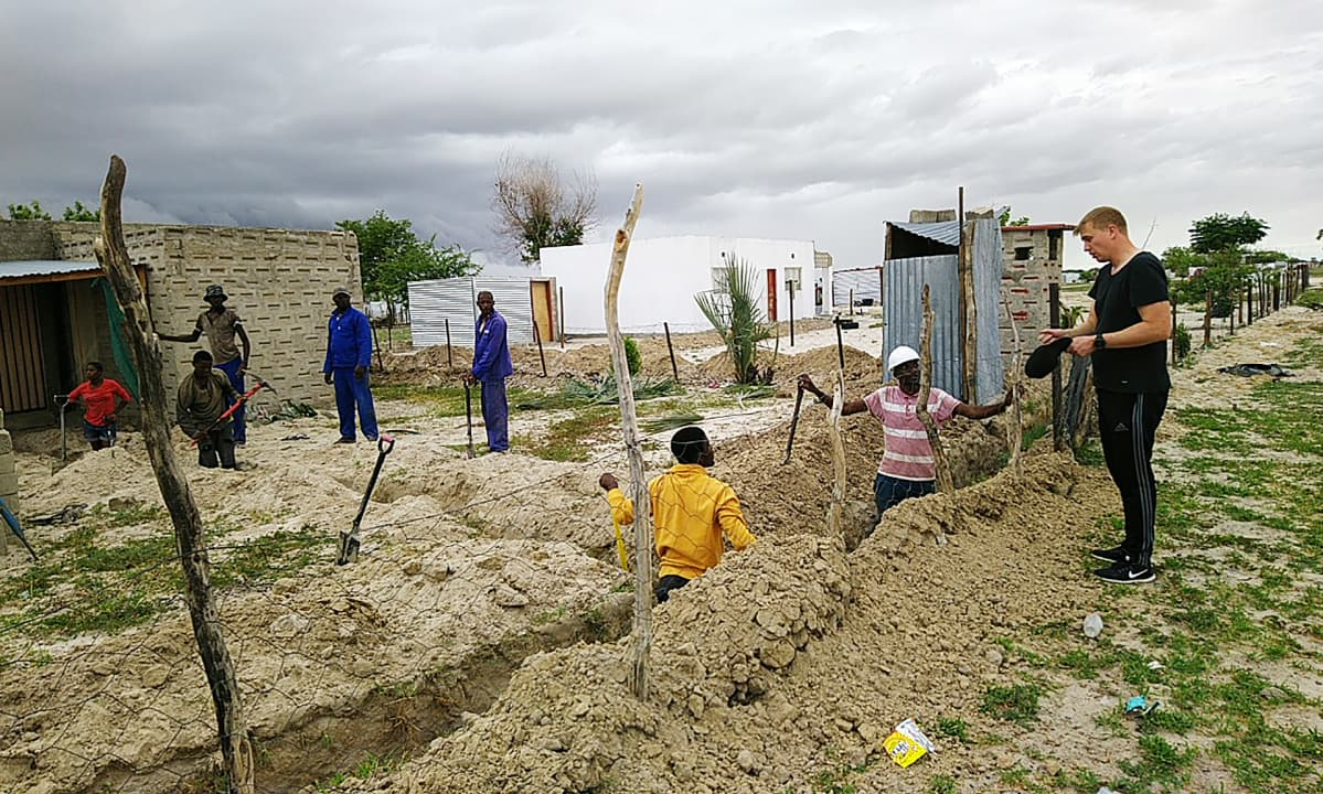 Namibia sähköistys Fusion Grid tutkimushanke.