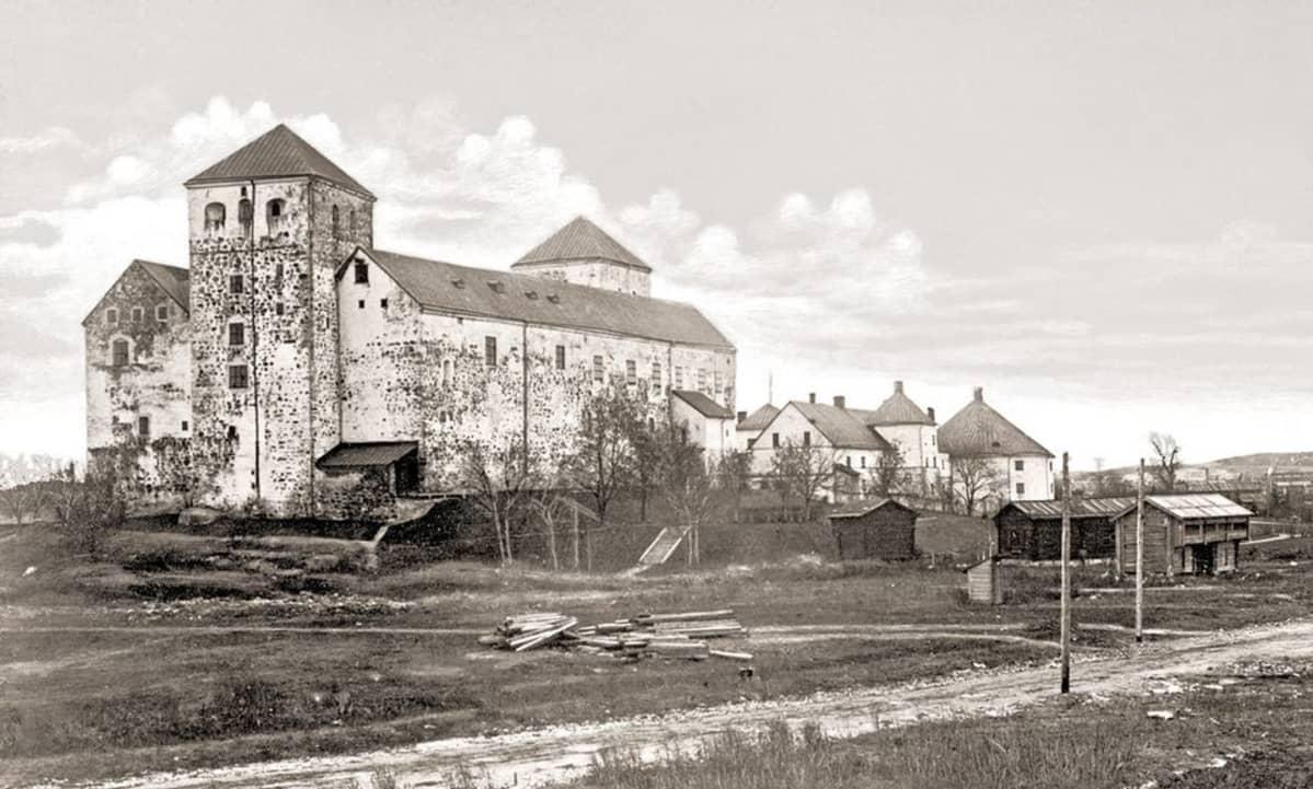 Turun linna ja ympärille suunniteltua ulkomuseota