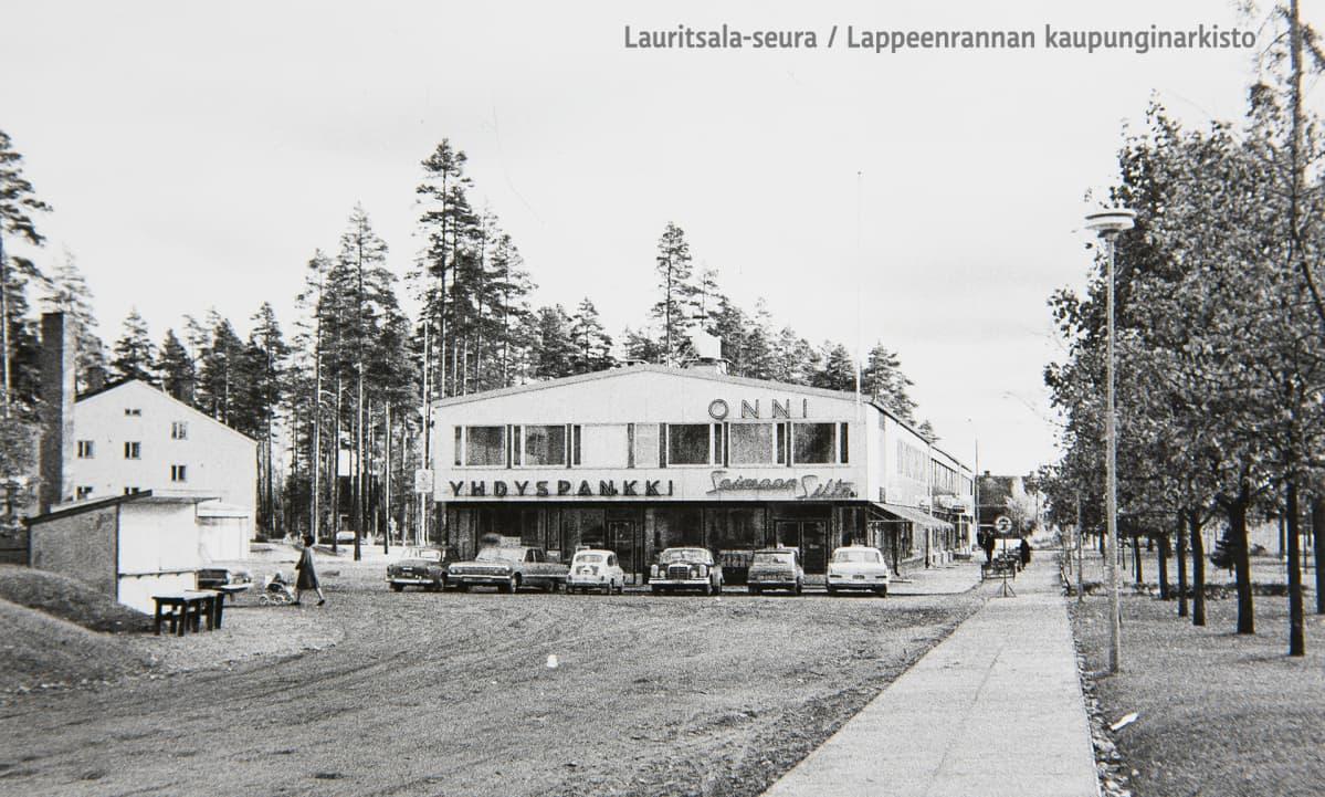 Lauritsalan Luukkaantori vuonna 1965.
