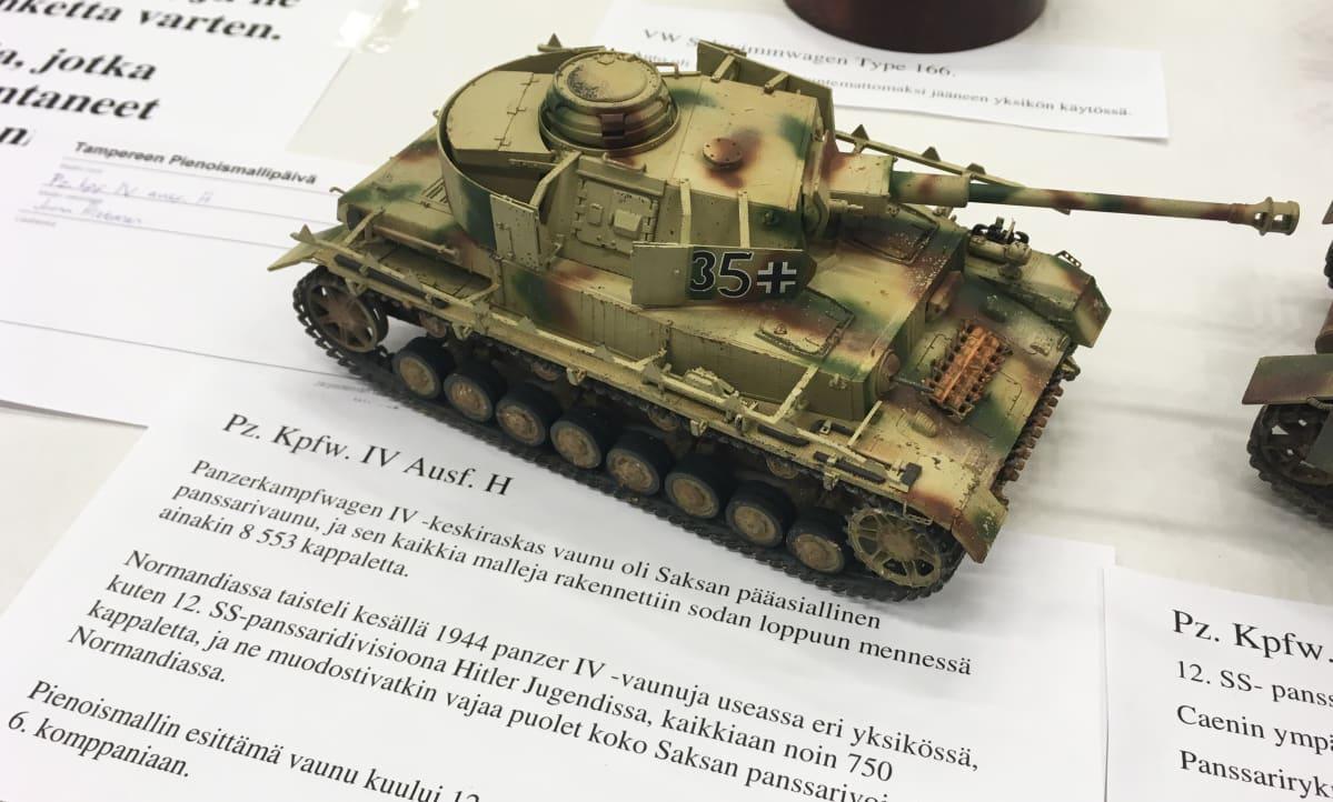 Pienoismallipanssarivaunu