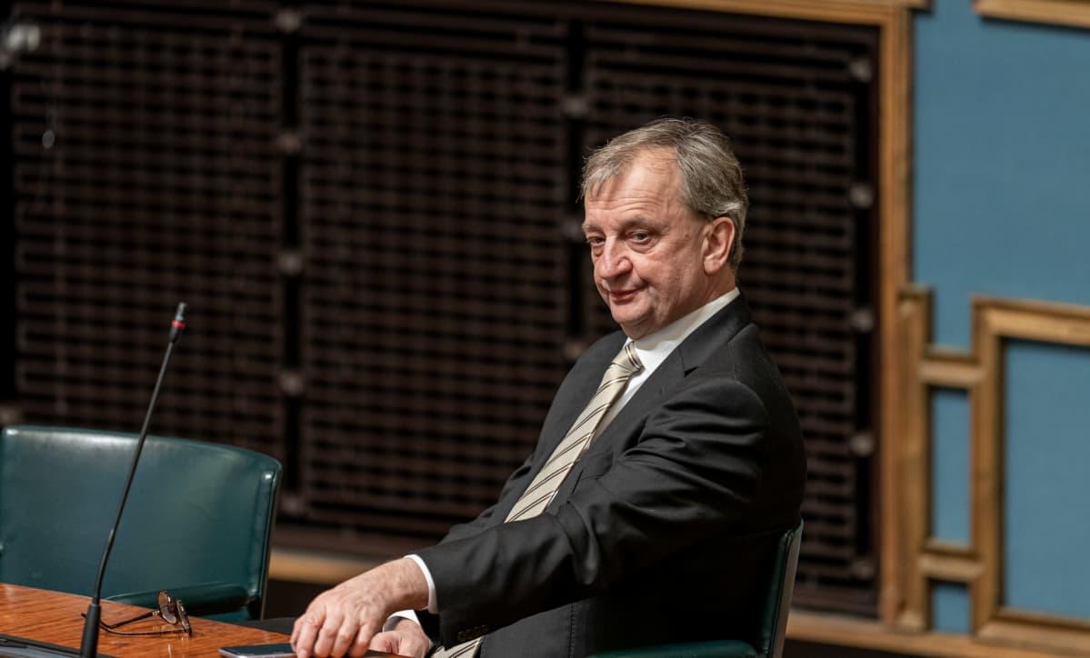 Kansanedustaja Harry Hjallis Harkimo, Liike Nyt.