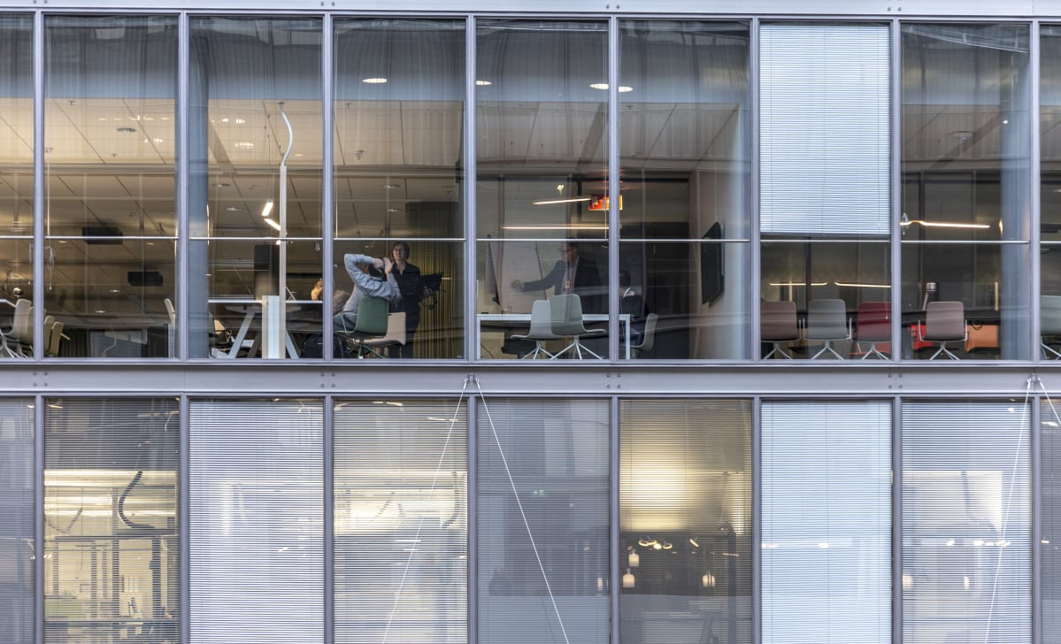 Business Finlandin toimisto Ruoholahdessa..