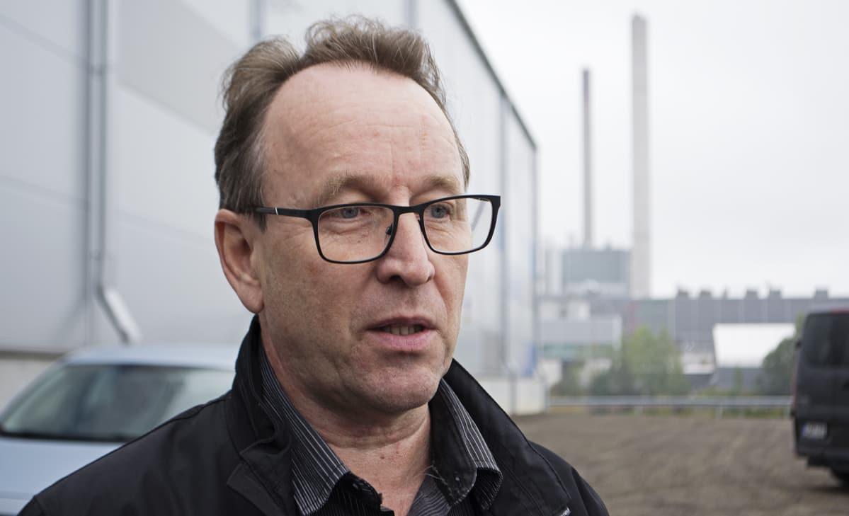 Arvo-Tecin toimitusjohtaja Kaj Arvonen.