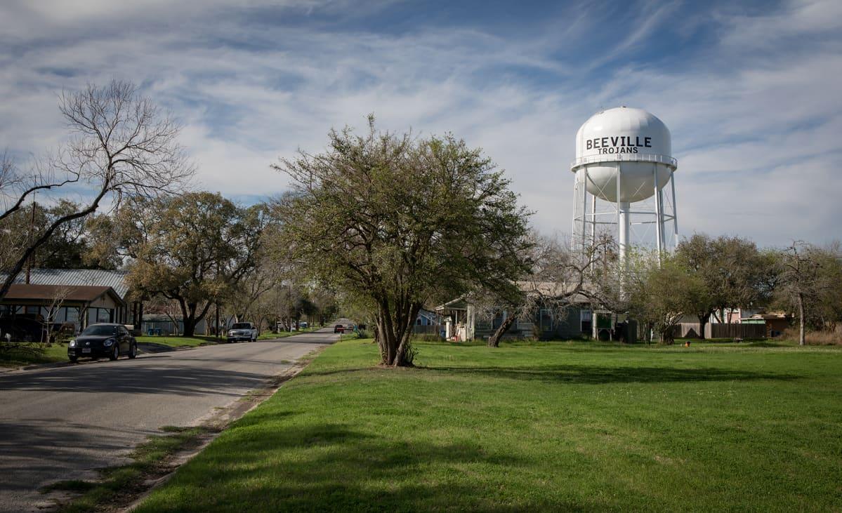 Vesitorni Texasin Beevillessä.