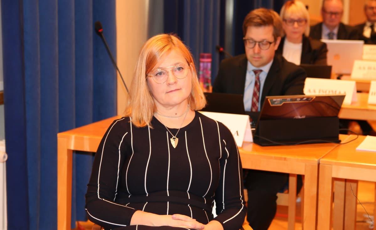 Kittilän entinen kunnanjohtaja Anna Mäkelä Rovaniemen hovioikeudessa 22.9.2020