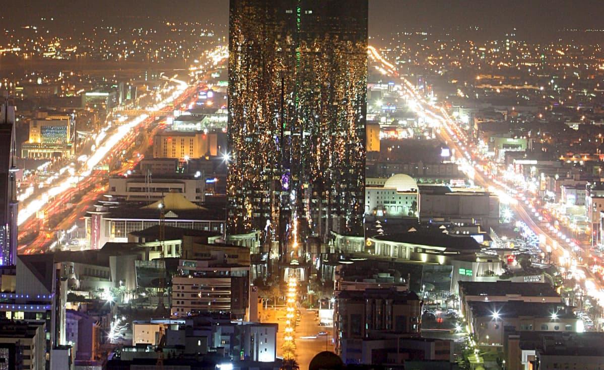 Kaupunkinäkymä Riadista.