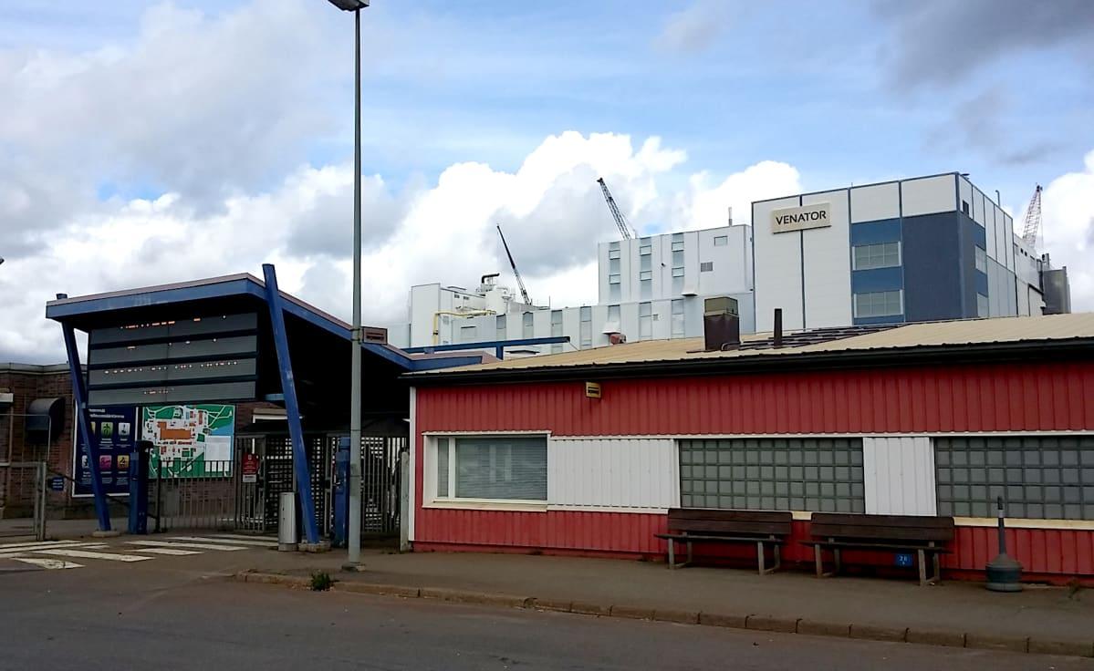 Venatorin tehdas Porissa