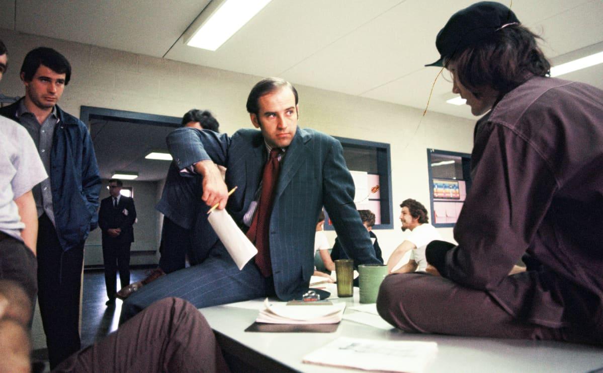 Joe Biden vuonna 1972