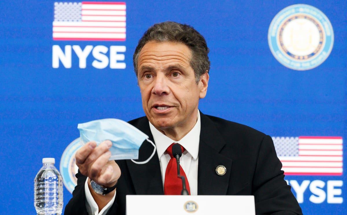 New Yorkin kuvernööri Andrew Cuomo