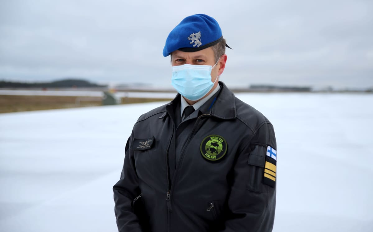 Maavoimien ilmailun päällikköeverstiluutnantti Kimmo Nordberg
