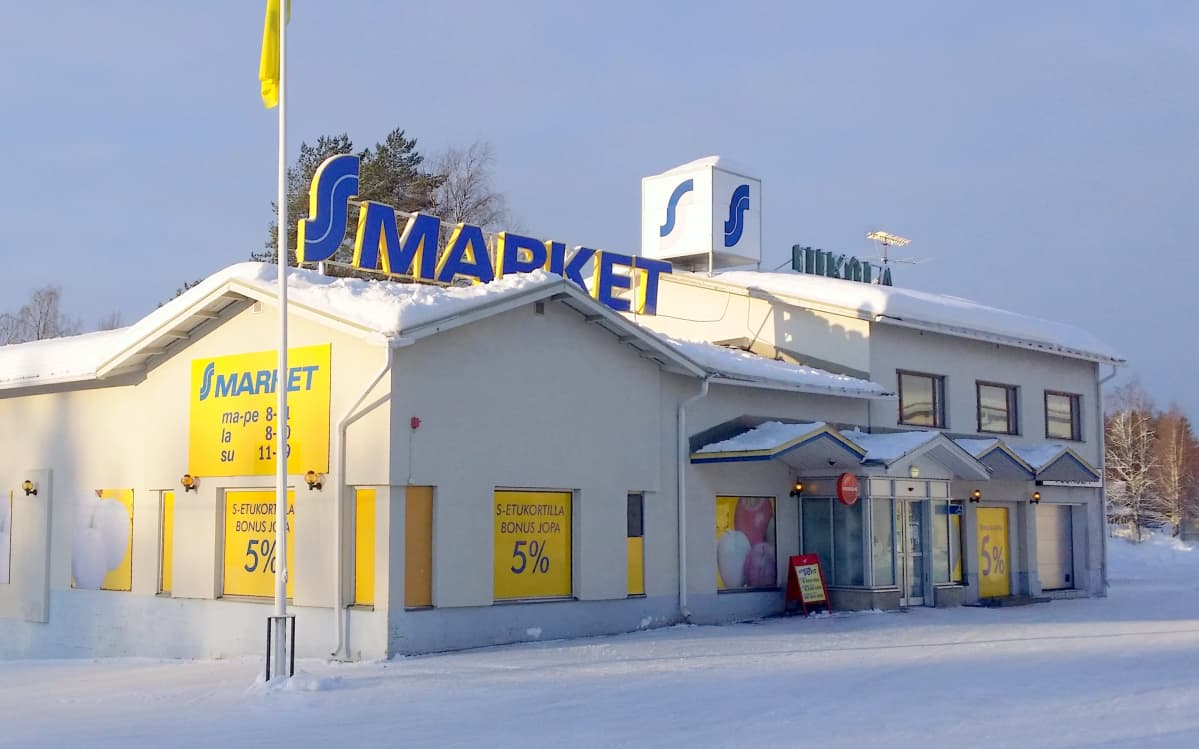 Rautavaaran S-market.