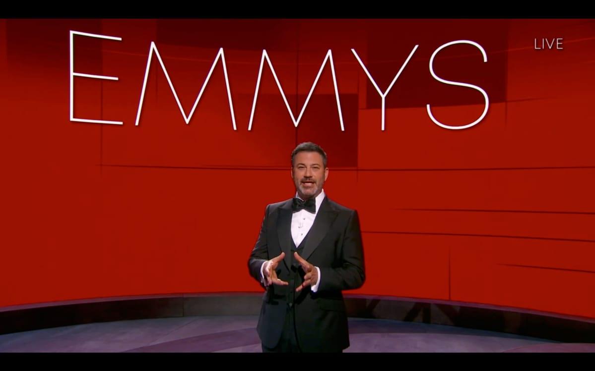 Jimmy Kimmel Emmy-juontajana