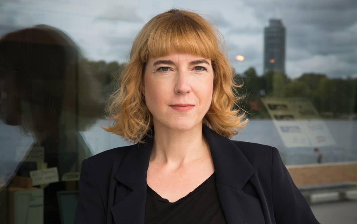 Der Spiegel -viikkolehden toimittaja Anna Clauss.