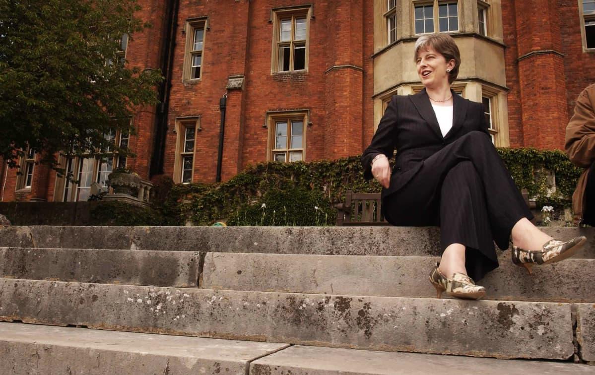 Theresa May vuonna 2003