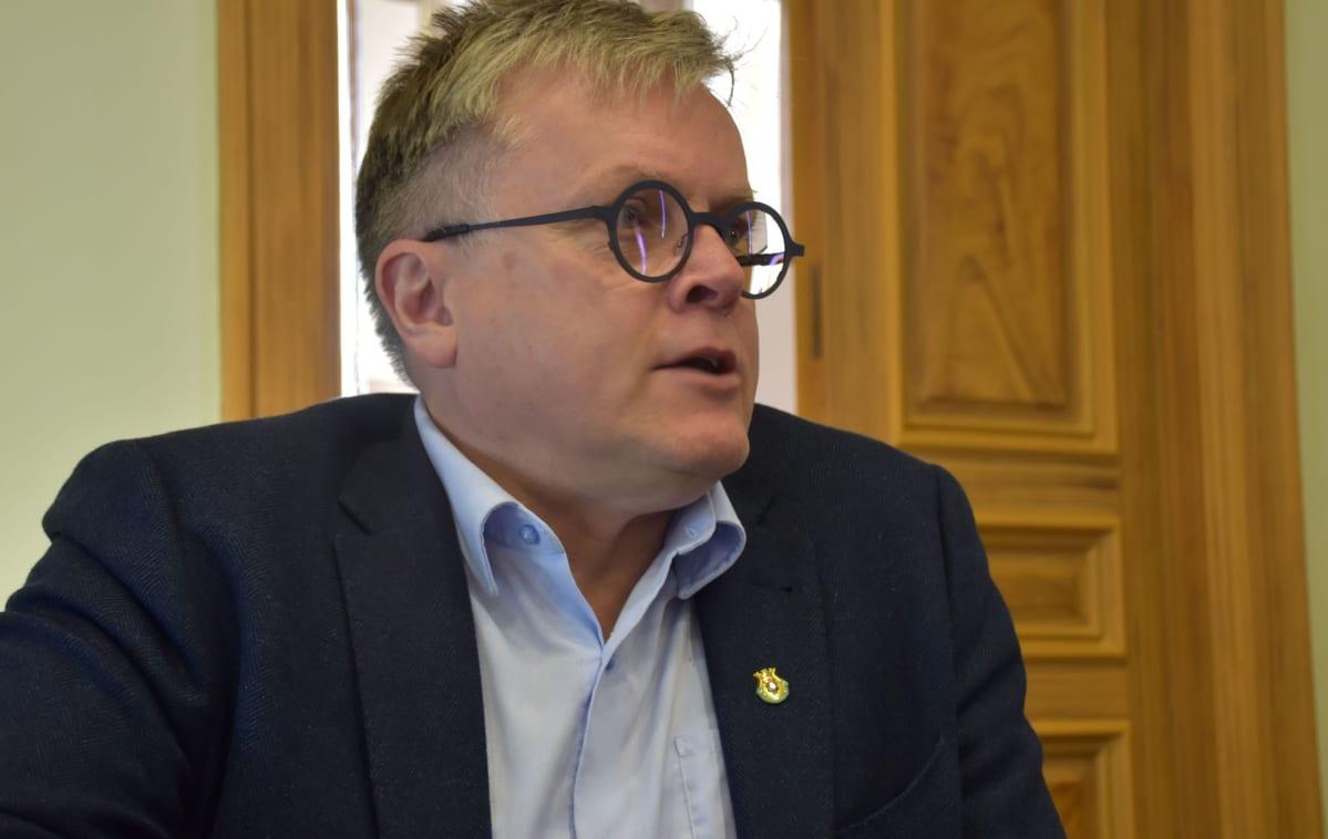 Porin sivistystoimen toimialajohtaja Esa Kohtamäki
